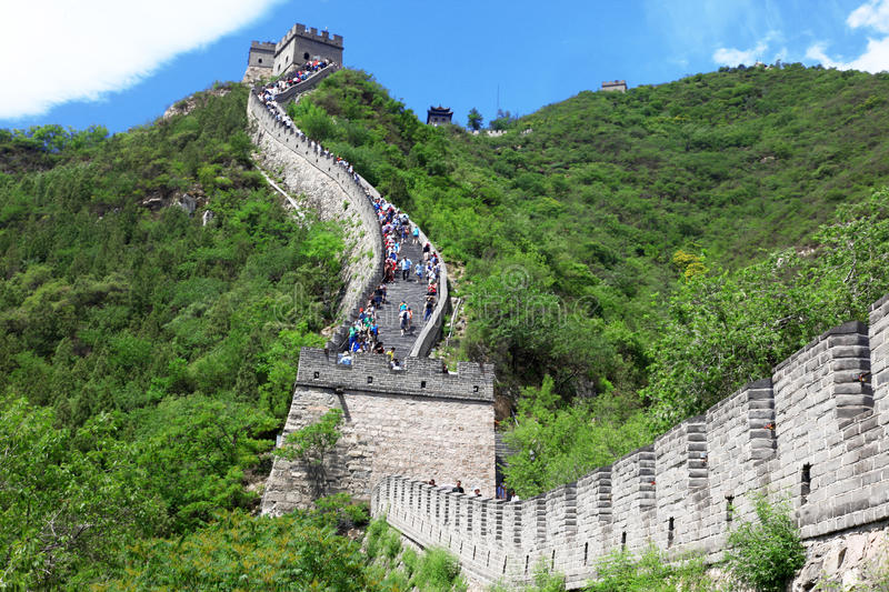 Great Wall, Beijing royalty free stock photography