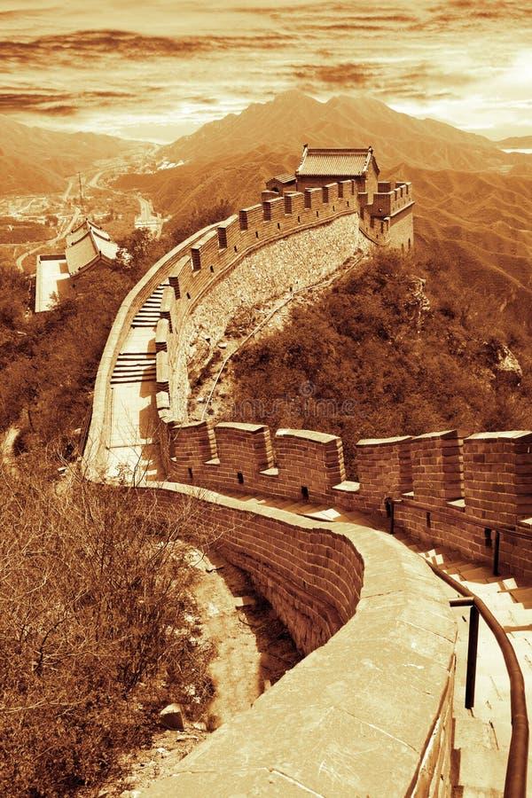 Great Wall of Beijing,China stock photos
