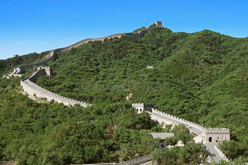 Download Great Wall of China stock photo. Image of asia, historic - 15198410