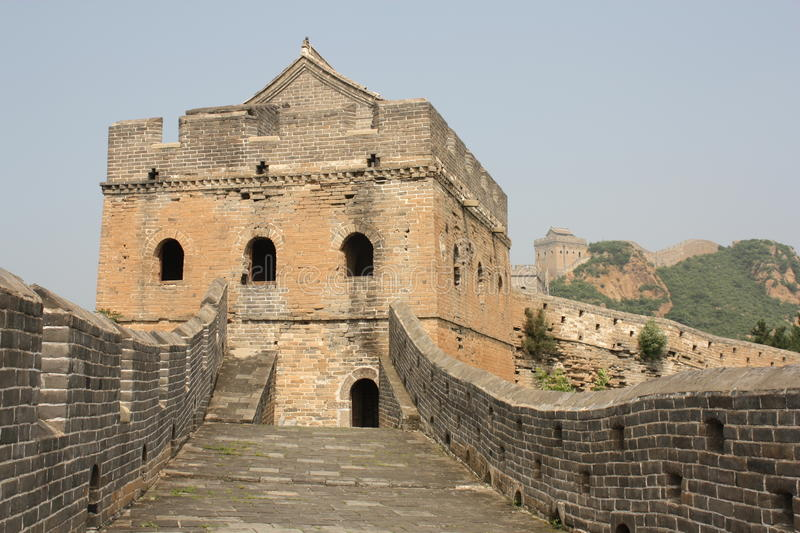 Download The Great Wall of China stock image. Image of brick, castellated - 16302737