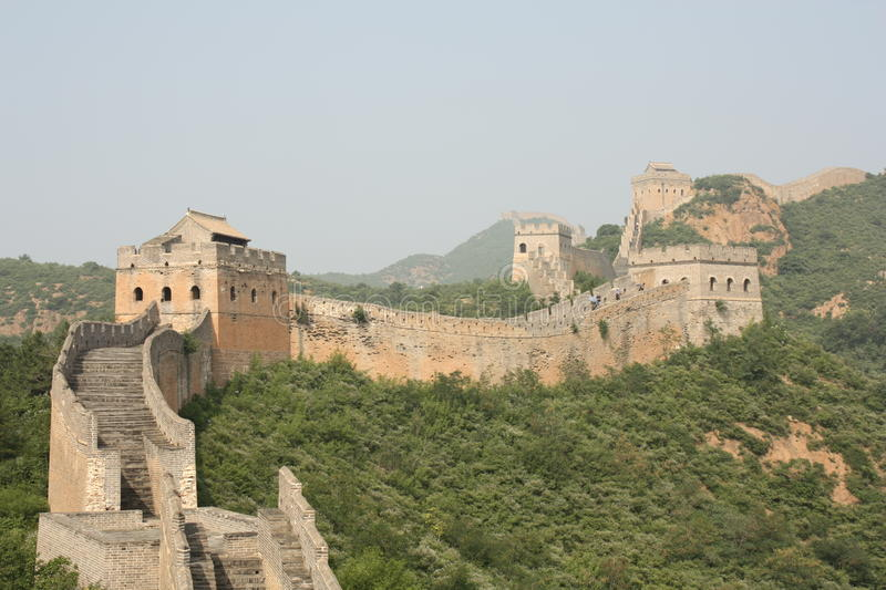 Download The Great Wall of China stock image. Image of historic - 16506407
