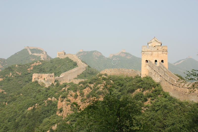 Download The Great Wall of China stock photo. Image of eastern - 16506416