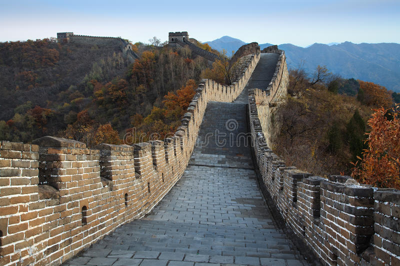 Download Great Wall of China stock photo. Image of ancient, landmark - 18390836