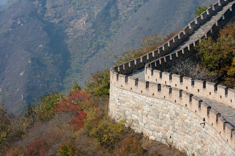 Download Great Wall of China stock image. Image of defense, chinese - 19584715
