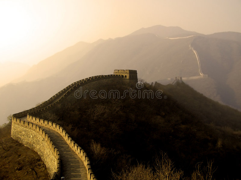 Download Great Wall of China stock photo. Image of travel, rock - 2005354