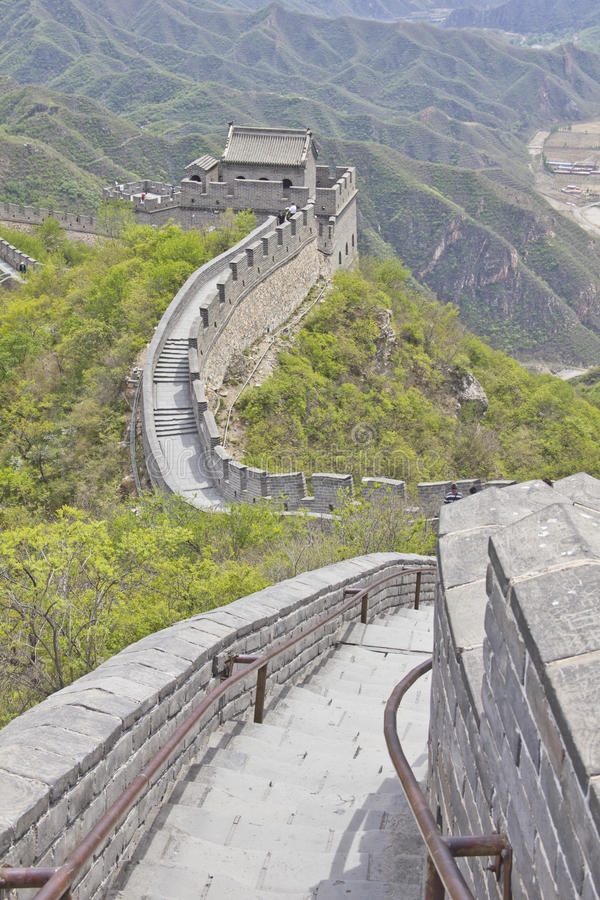 Download Great Wall of China stock photo. Image of fronteer, chinese - 21067486