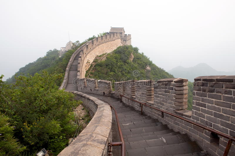 Download The Great Wall of China stock photo. Image of bright - 22414966