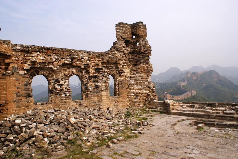 Download The great wall, China stock photo. Image of stone, great - 22589754
