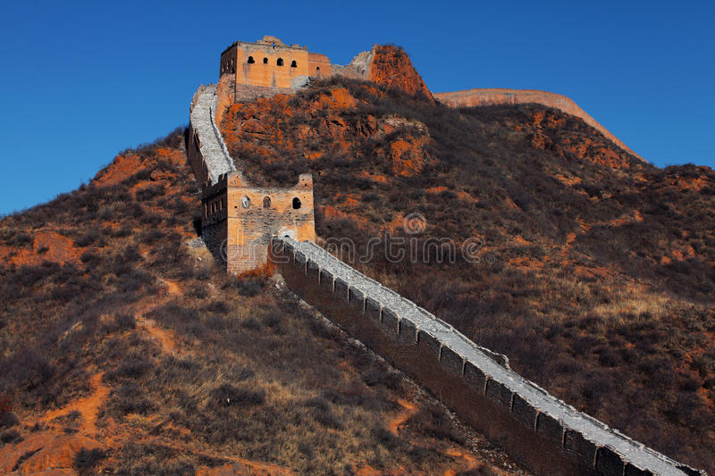 Download The Great Wall of China stock photo. Image of asia, nature - 26394262