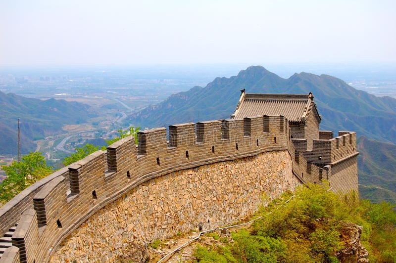 Download The Great Wall of China stock image. Image of historic - 27253937