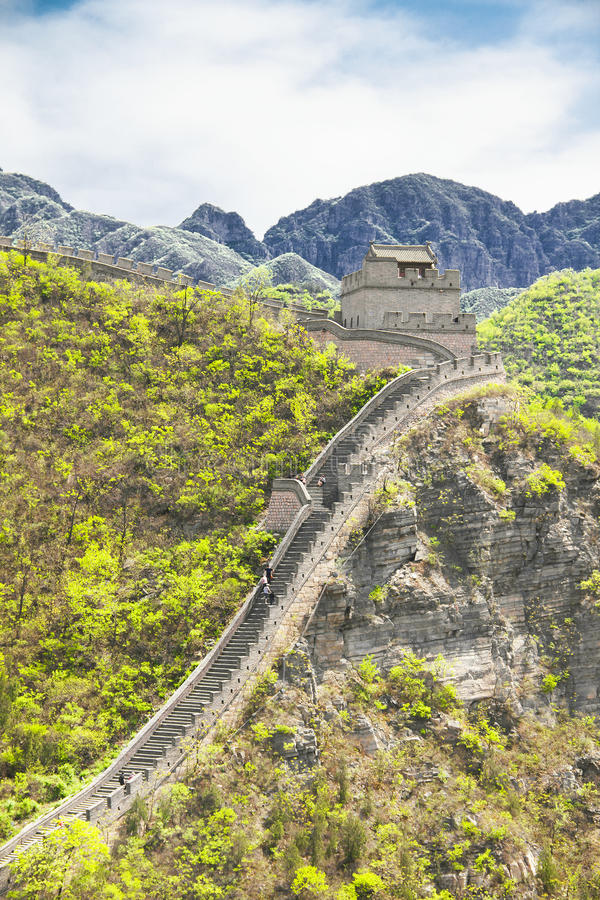 Download The Great Wall, China stock image. Image of historic - 28498713