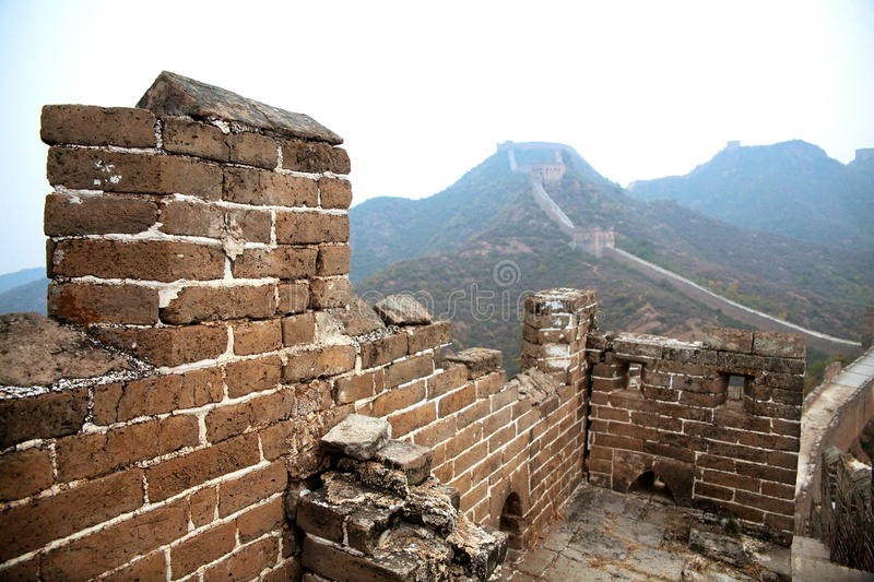 Download Great Wall of China stock photo. Image of structural - 28562340