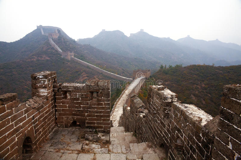 Download Great Wall of China stock photo. Image of miracle, backpacking - 28562450