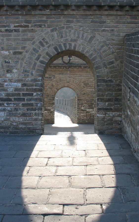 Great Wall of China 3 royalty free stock image