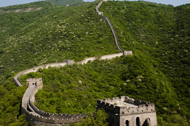 Download Great Wall of China stock photo. Image of wall, security - 37724396