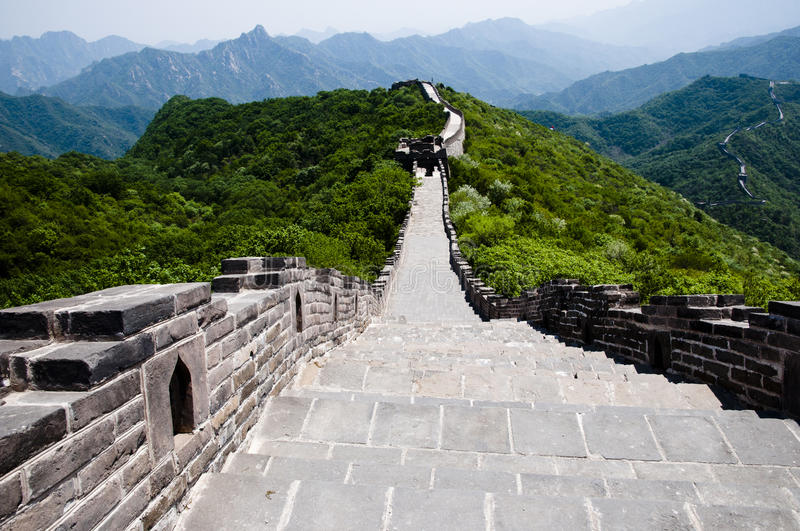 Download Great Wall of China stock photo. Image of extended, stone - 37724964