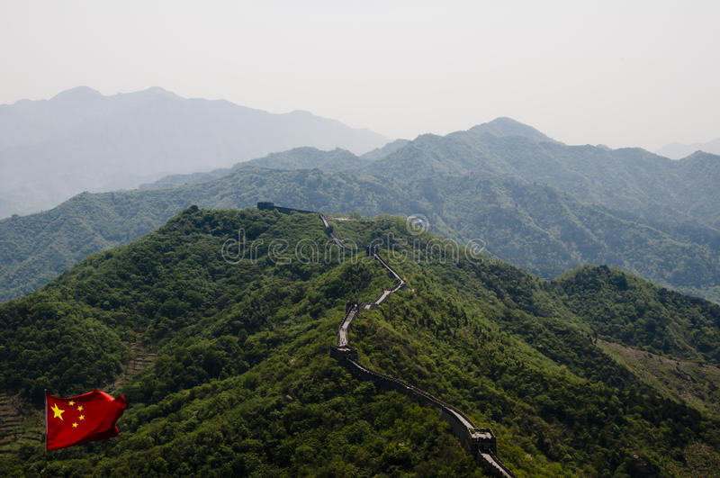 Download Great Wall of China stock photo. Image of causeway, protect - 37725130