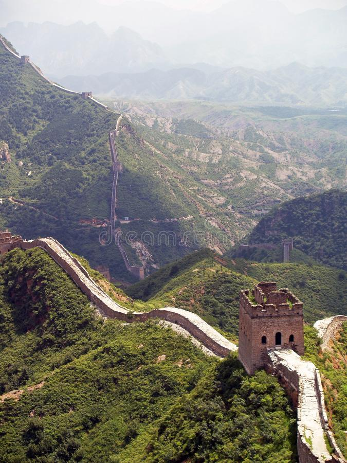 Great Wall Of China 4 stock photo