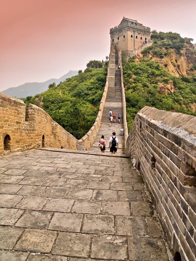 Great Wall of China royalty free stock photos