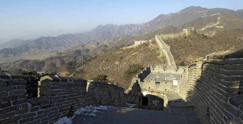 Download The Great Wall of China stock image. Image of great, winter - 511135