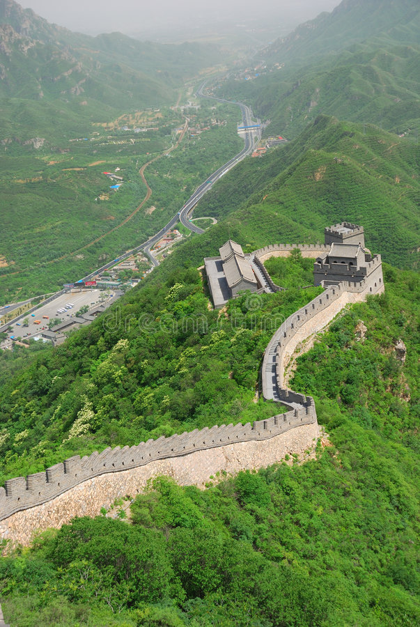 Great Wall in China royalty free stock photography