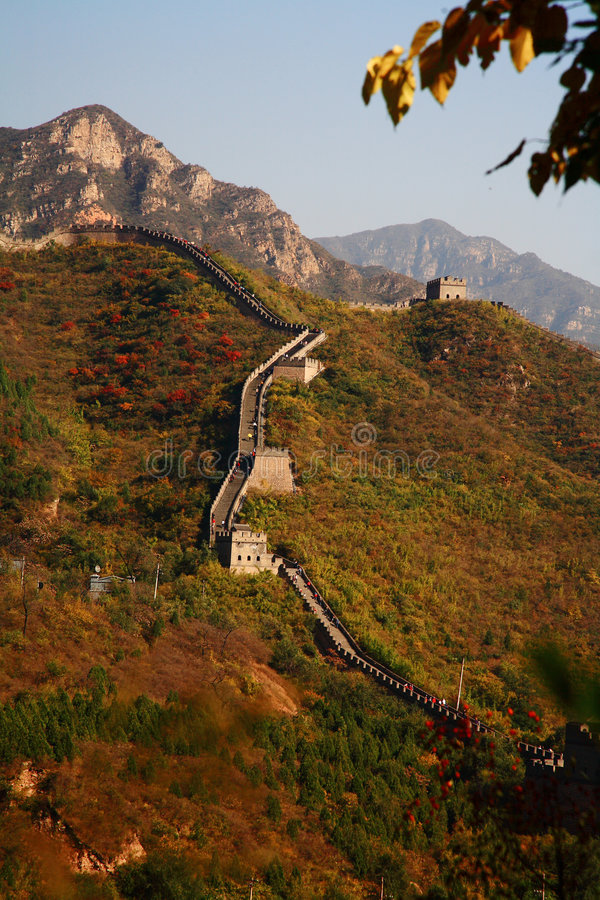 Free Great Wall China Royalty Free Stock Photos - 6829408