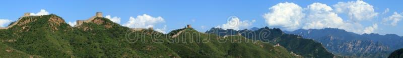 The Great Wall of China. Close to Jinshanling stock images