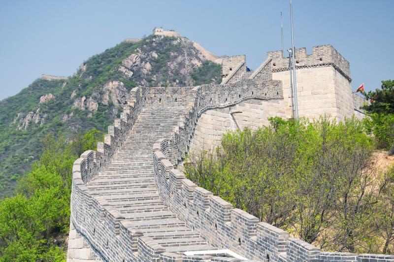 Great wall of china beijing China blue sky royalty free stock photo