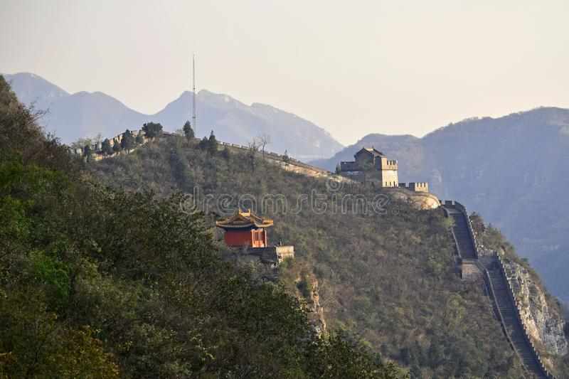 Great Wall of China. The Great Wall of China is a series of fortifications made of stone, brick, tamped earth, wood, and other materials, generally built along royalty free stock images