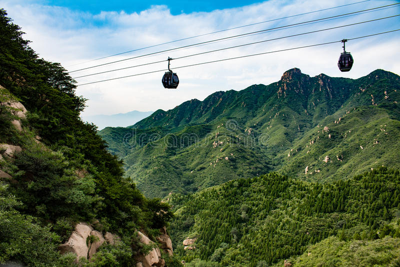 Great Wall Gondola royalty free stock image