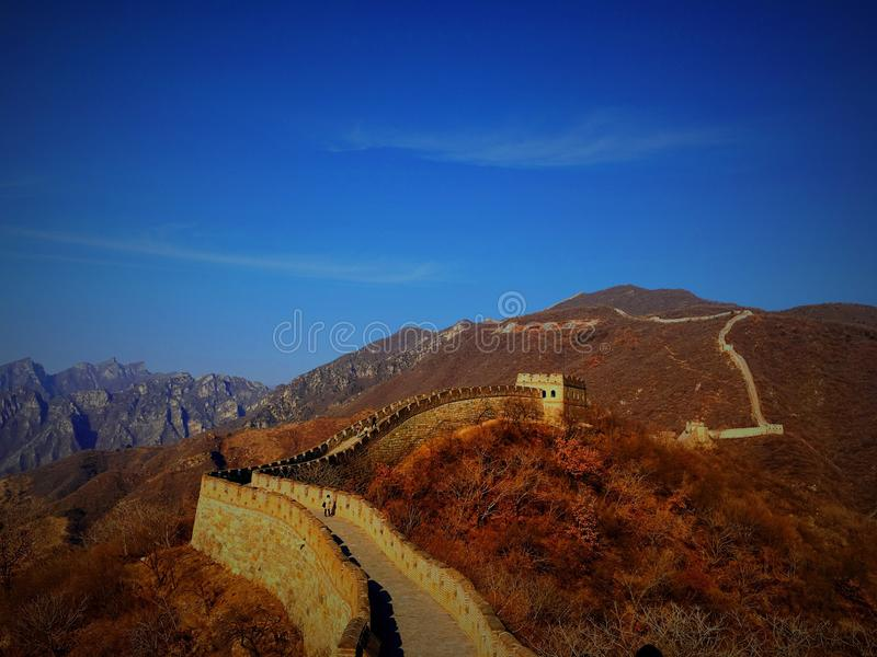 GreatWall royalty free stock photo
