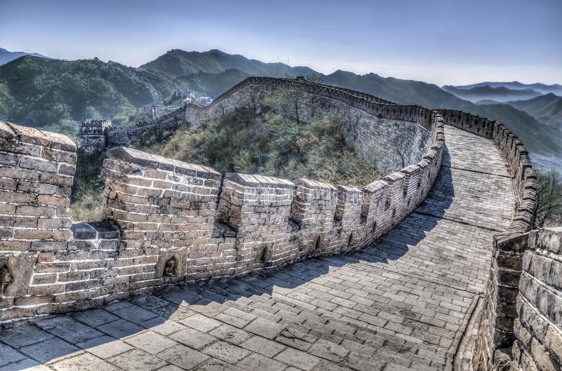 Download Great Wall stock image. Image of peking, culture, outside - 30660109
