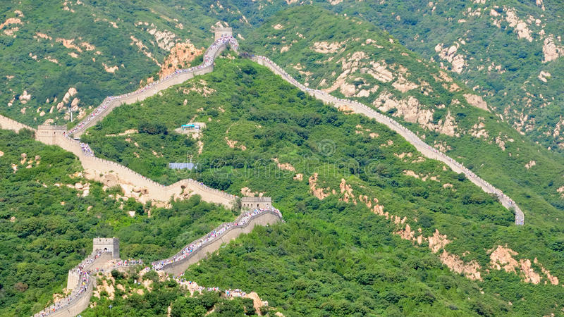 Great Wall no.6 royalty free stock photo