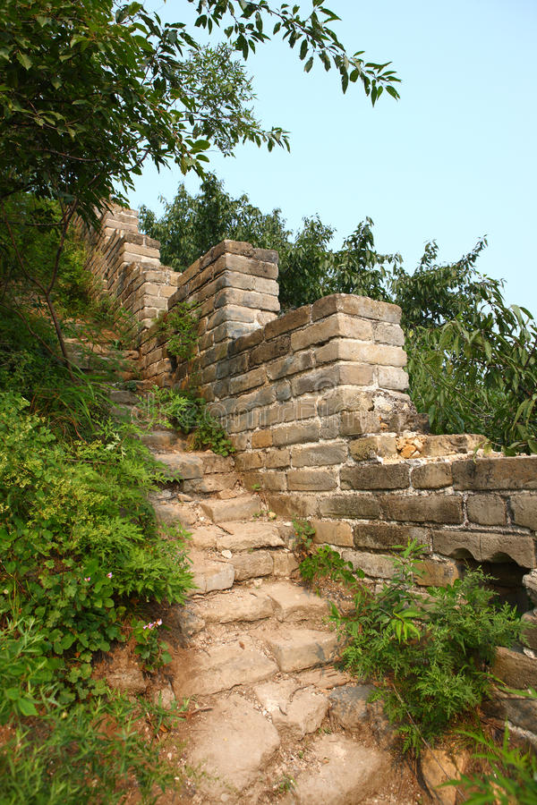 Download Great Wall ruins stock image. Image of travel, brick - 29964301