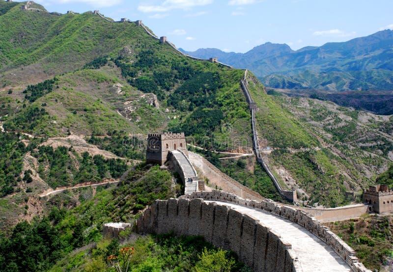Great Wall In Simatai Stock Photo
