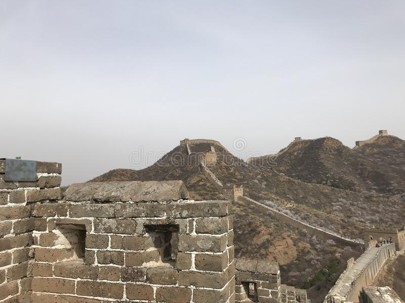 The Great Wall royalty free stock photography