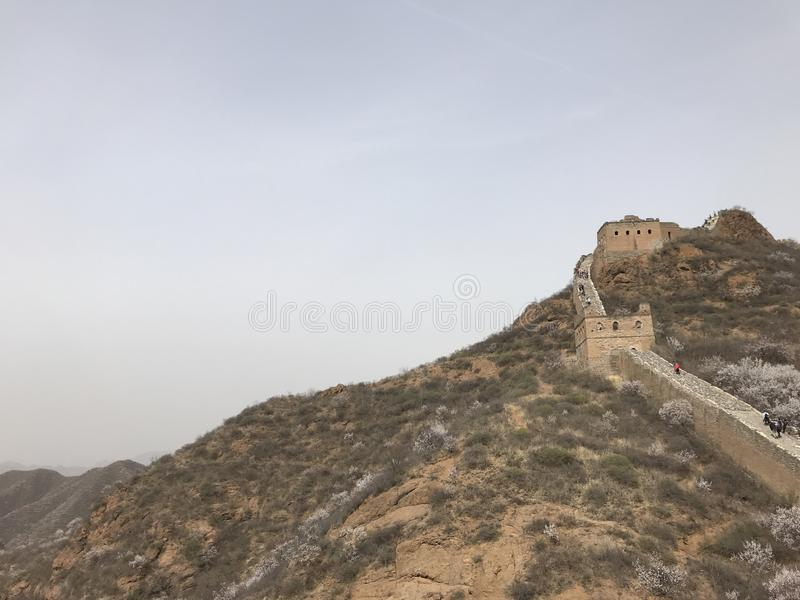 The Great Wall stock photo