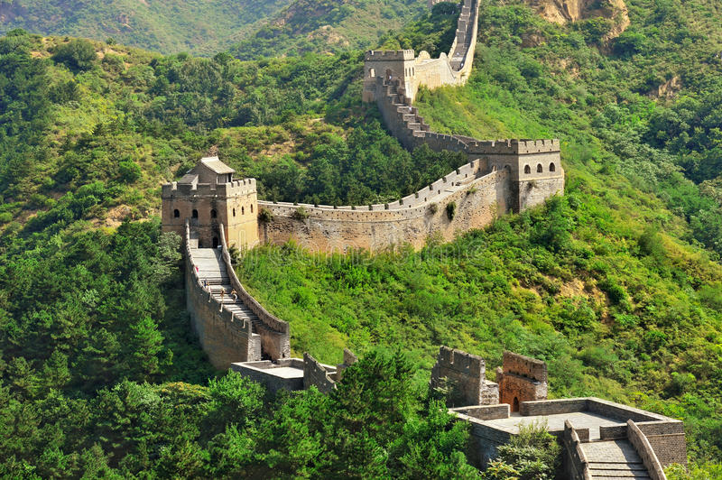 Download Great Wall In Summer Royalty Free Stock Photos - Image: 29046818