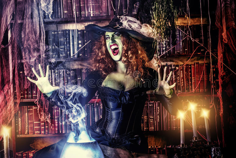 Great witch stock photo