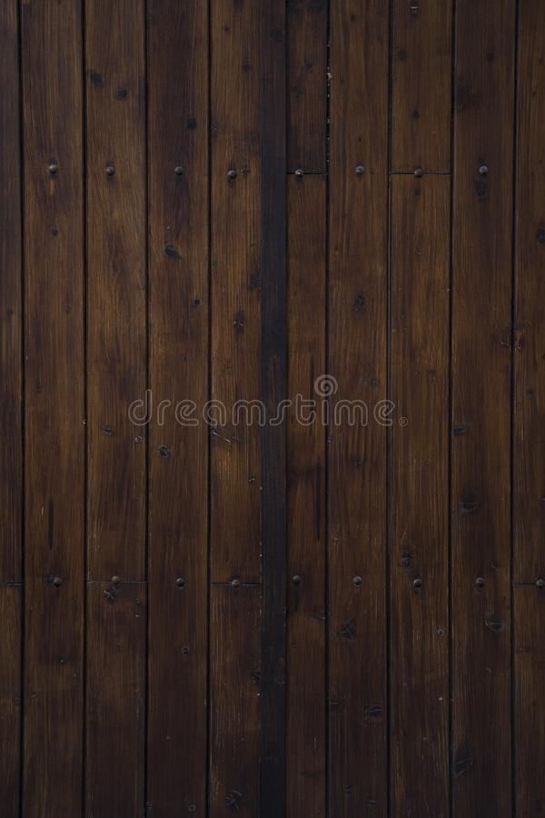 Great wooden texture good for backgrounds, wallpapers. Vintage brown woods royalty free stock photo