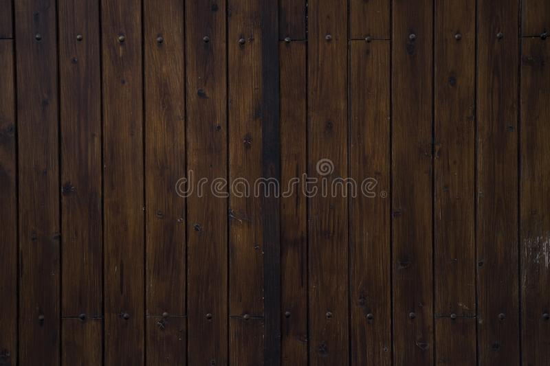 Great wooden texture good for backgrounds, wallpapers. Vintage brown woods stock image