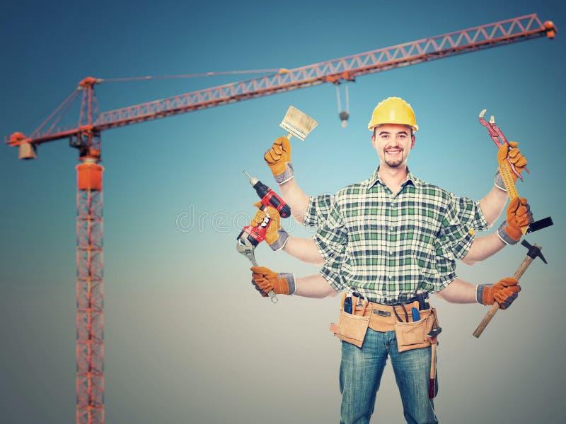 Download Great worker stock image. Image of journeyman, equipmant - 22111877
