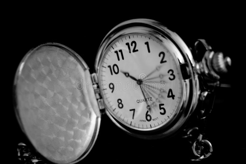 So great that you can see it in the slow movement of the hands of a clock royalty free stock photo