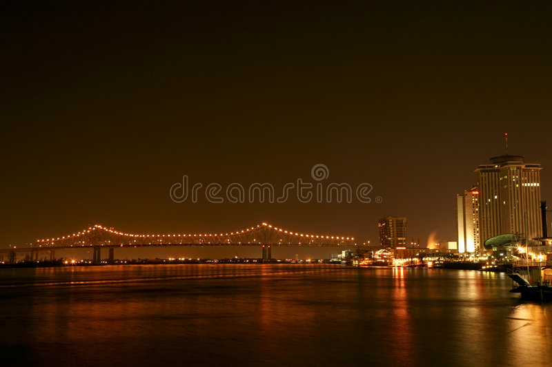 Greater New Orleans Bridge #2 stock images