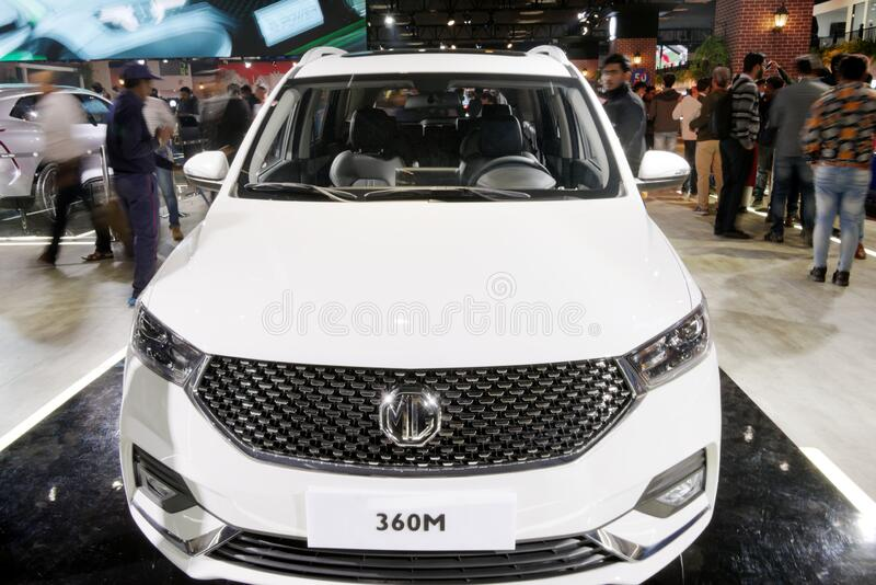 Auto Expo 2020, Greater Noida, India stock photos