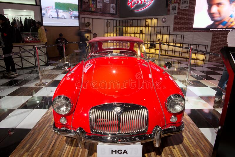 Auto Expo 2020, Greater Noida, India royalty free stock photos