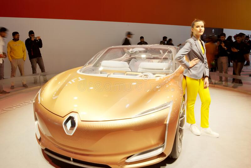 Auto Expo 2020, Greater Noida, India stock photo