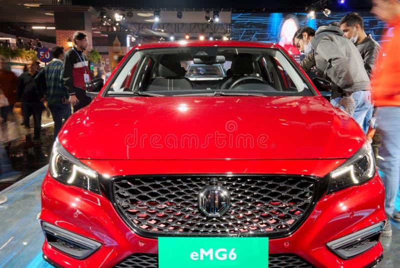 Auto Expo 2020, Greater Noida, India stock image