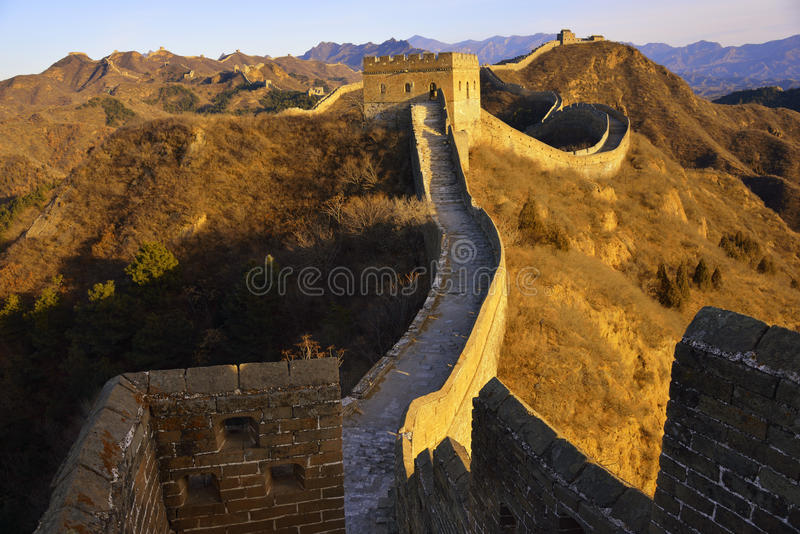 The Greatwall Royalty Free Stock Image