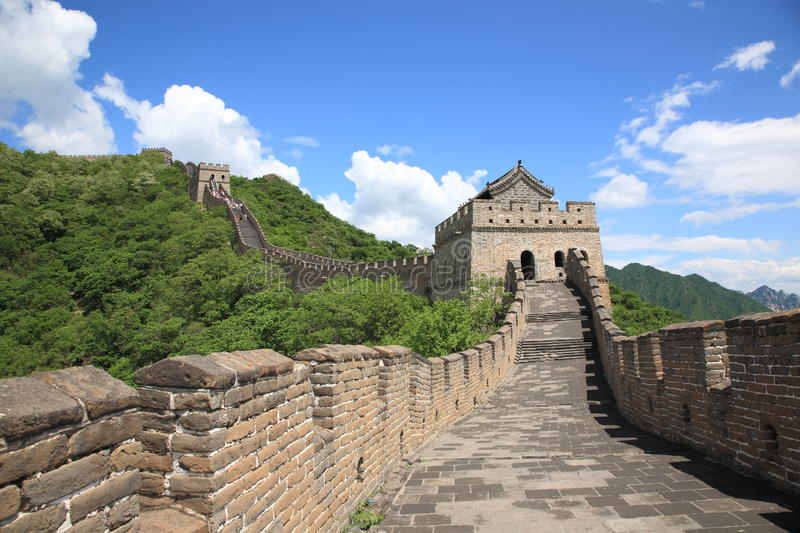 Greatwall, porcelaine photo stock